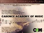 Cadence Academy Of Music