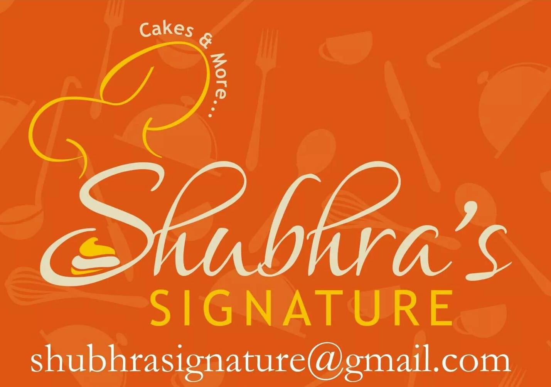 Shubhra's Signature