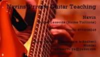 Navin Guitar Classes