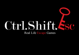 Ctrl.Shift.Esc - Real Life Escape Games